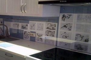 Фартук кухонный из стекла с фотопечатью 1 - Оптовый поставщик комплектующих «СтекКо-НН»