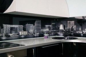 Фартук кухонный из стекла с фотопечатью 4 - Оптовый поставщик комплектующих «СтекКо-НН»