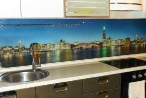 Фартук кухонный из стекла с фотопечатью М.Ямская - Оптовый поставщик комплектующих «СтекКо-НН»