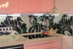 Фартук кухонный стеклянный 001 - Оптовый поставщик комплектующих «Стеклодом»