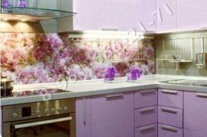 Фартук кухонный стеклянный 002 - Оптовый поставщик комплектующих «Стеклодом»