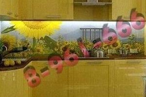 Фартук кухонный стеклянный 003 - Оптовый поставщик комплектующих «Стеклодом»