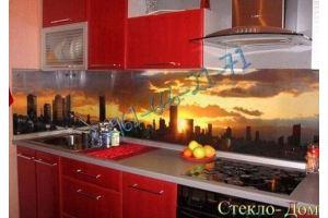 Фартук кухонный стеклянный 004 - Оптовый поставщик комплектующих «Стеклодом»