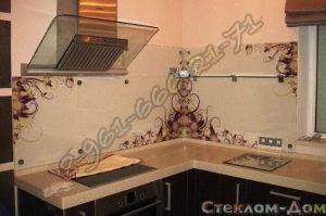 Фартук кухонный стеклянный 010 - Оптовый поставщик комплектующих «Стеклодом»