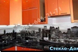 Фартук кухонный стеклянный 017 - Оптовый поставщик комплектующих «Стеклодом»