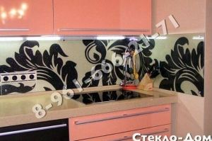 Фартук кухонный стеклянный 018 - Оптовый поставщик комплектующих «Стеклодом»