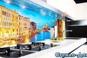 Фартук кухонный стеклянный 019 - Оптовый поставщик комплектующих «Стеклодом»