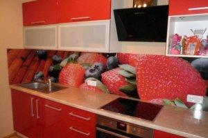 Фартук кухонный стеклянный 021 - Оптовый поставщик комплектующих «Премиум Стекло»