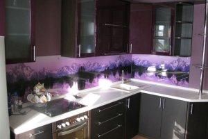 Фартук кухонный стеклянный 022 - Оптовый поставщик комплектующих «Премиум Стекло»
