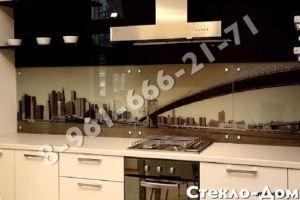 Фартук кухонный стеклянный 022 - Оптовый поставщик комплектующих «Стеклодом»
