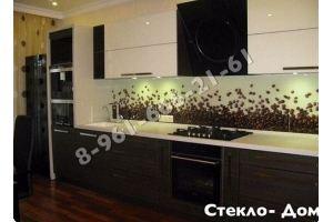 Фартук кухонный стеклянный 025 - Оптовый поставщик комплектующих «Стеклодом»