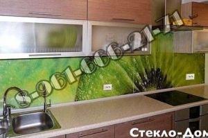 Фартук кухонный стеклянный 026 - Оптовый поставщик комплектующих «Стеклодом»