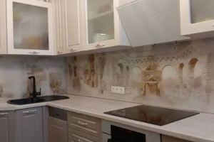 Фартук кухонный стеклянный 027 - Оптовый поставщик комплектующих «Стеклодом»