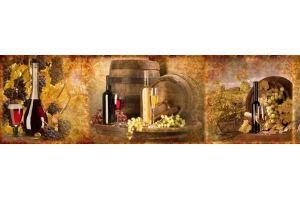 Фартук кухонный стеклянный 0808-15 - Оптовый поставщик комплектующих «Глобал»