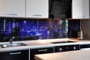 Фартук с фотопечатью Город - Оптовый поставщик комплектующих «Дом стекольных технологий (ДСТ)»