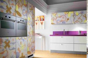 Фасад для кухни с фотопечатью 002 - Оптовый поставщик комплектующих «El Cristal»