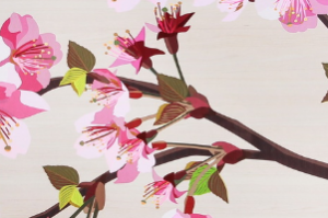 Фасад фотопечать сакура - Оптовый поставщик комплектующих «Хамелеон»