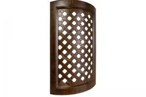 Фасад Гнутая витрина-сетка - Оптовый поставщик комплектующих «Скат (Котовская Фабрика Мебельных Фасадов)»