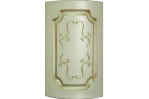 Фасад гнутый Александрия патина золото - Оптовый поставщик комплектующих «АРТиКА»