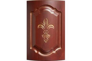 Фасад гнутый Миледи патина золото - Оптовый поставщик комплектующих «АРТиКА»