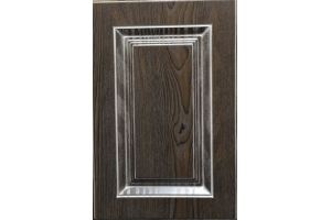 Фасад мебельный 9015 дуб шоколадный - Оптовый поставщик комплектующих «Доминант»