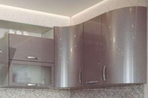 Фасад мебельный для кухни 14 - Оптовый поставщик комплектующих «Николаевские фасады»