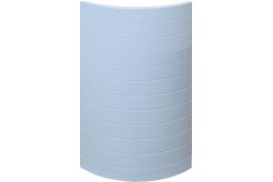 Фасад мебельный Лейн тип 1 радиусный - Оптовый поставщик комплектующих «Пластик Акрил»