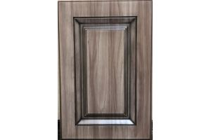 Фасад мебельный с фрезеровкой Квадрат 9016 - Оптовый поставщик комплектующих «Доминант»