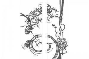 Фасад с пескоструйным рисунком 39-1/39-2 - Оптовый поставщик комплектующих «Doksal-Ижевск»
