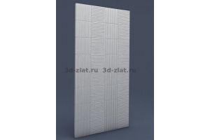Фасадная Панель 3D MDF-23 - Оптовый поставщик комплектующих «ИСОВИТ фабрика резных изделий»