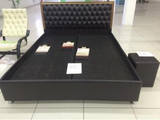 Кровать Диана в каретной стяжке - Мебельная фабрика «Уют»