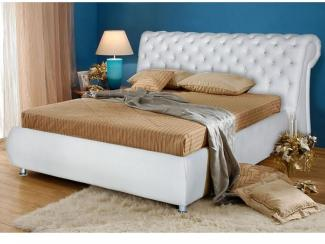 Кровать с мягким изголовьем Верона - Мебельная фабрика «Палитра»