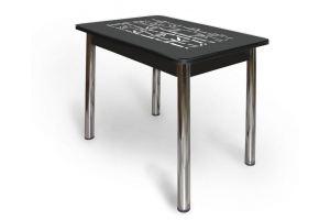 Стеклянный ажурный стол АС 003 - Мебельная фабрика «Александрия», г. Ульяновск