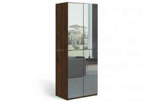 Шкаф двухдверный с зеркалами Solo - Мебельная фабрика «Мебель-Москва»