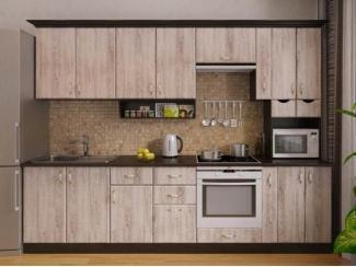 Большой прямой кухонный гарнитур Сосна выбеленная - Мебельная фабрика «РОСТ»