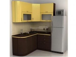 Небольшая угловая кухня Арт-Модерн 11 - Мебельная фабрика «Аркадия-Мебель»