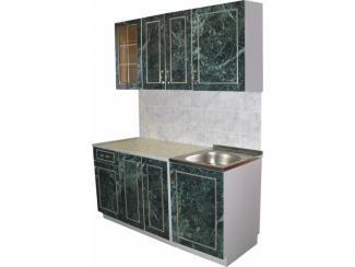 кухня прямая Каприз К малахит - Мебельная фабрика «Киржачская мебельная фабрика»