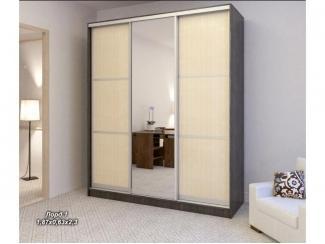 Шкаф-купе в спальню Лорд 1 - Мебельная фабрика «Элна»