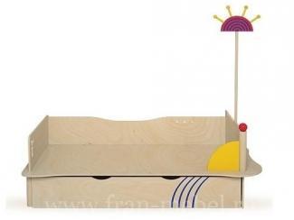 Детская кровать лайма с ящиком  - Мебельная фабрика «Фран»