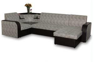 Диван модульный Триумф 15 с оттоманкой - Мебельная фабрика «Ваш Выбор»