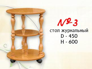 Стол журнальный №3 - Мебельная фабрика «Мальта-С»