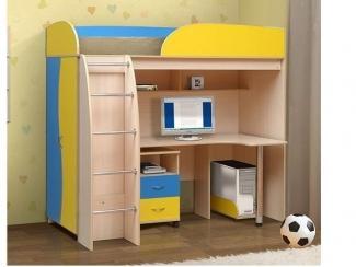 Кровать-чердак  с рабочим местом - Мебельная фабрика «Архангельская мебельная фабрика»