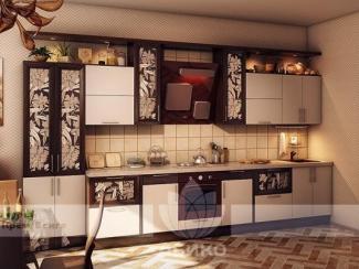 Кухня Меркурий Крем/Венге - Мебельная фабрика «Абико»