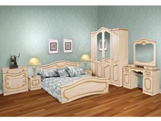 Спальный гарнитур Анжелика клен