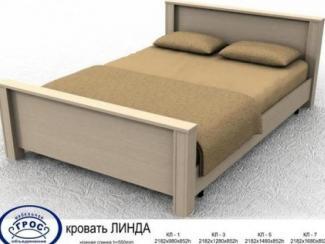 Кровать Линда 1 - Мебельная фабрика «Грос»