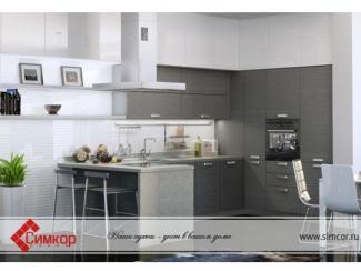 Кухня Стефани шпон - Мебельная фабрика «Симкор»
