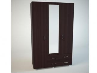 Распашной шкаф Фламенко 2 - Мебельная фабрика «Маэстро»