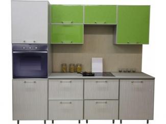 Кухня прямая Лайм дождь - Мебельная фабрика «Техсервис»