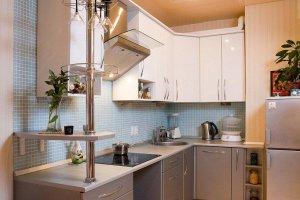 Небольшая угловая кухня - Мебельная фабрика «Барокко Плюс»