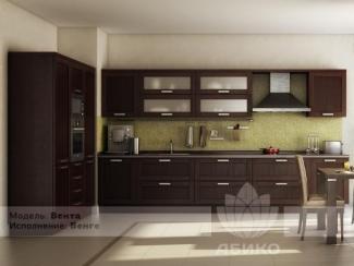 Кухня Вента массив - Мебельная фабрика «Абико»